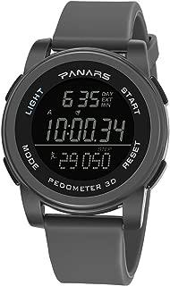 PANARS Digital Quartz Movement Multifunctional Water Resistant Sports Men's Watch - (8108)