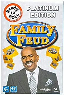 Family Feud Game Platinum Edition (Bonus Includes Stickers for Children-Type May Vary) Educational and Family Fun All Toge...