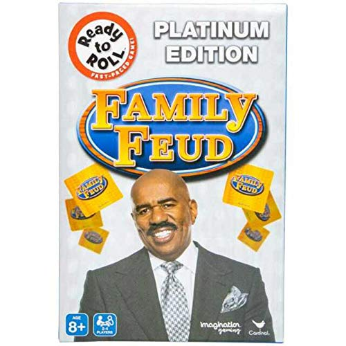Family Feud Game Platinum Edition (Bonus Includes Stickers for Children-Type May Vary) Educational and Family Fun All Together!