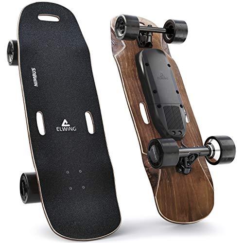 Elwing Boards - Modulares Elektrisches Skateboard - Powerkit Nimbus Sport - Doppelantrieb 38km/h - Langzeitakku 30km - IP65 Wasser- Und Staubdicht - Entwickelt in Frankreich