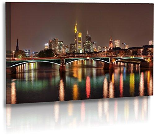 Fotoatelier Dirk Haas Premium Acrylglasbild XXL - Architektur - Bilder - Frankfurt Skyscraper - Skyline - Acrylglas : 100 cm x 60 cm