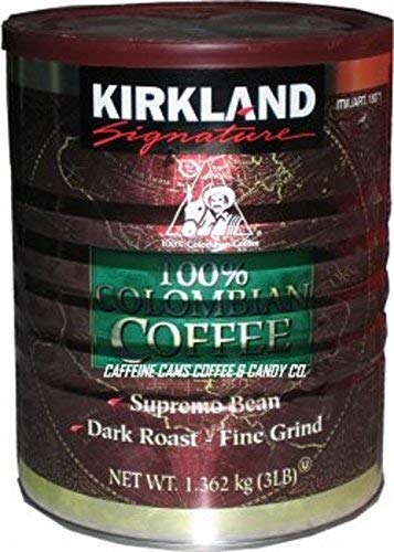 Name: Kirkland Signature 100% Colombian Coffee, 3 Pound (3 LB) - PACK OF 2
