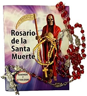 Beautiful Holy Death Rosary and Prayer Book (Text in Spanish). Hermoso Rosario De La Santa Muerte, Con Libro Para Rezarlo. (Spanish) Paperback – 2011