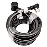 Parkworld Industrial NEMA 10-50 Extension Cord, 10-50P to 10-50R, 3-Prong, 50 AMP, 250 Volts, 12500 Watts (50FT)