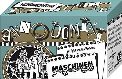 ABACUSSPIELE 09201 - Anno Domini - Maschinen, Quizspiel, Schätzspiel, Kartenspiel