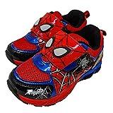 [Marvel] 3018 マーベル スパイダーマン 光る キッズ スニーカー 運動靴 (16cm)