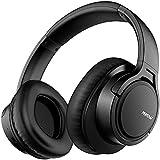 Mpow H7 Casque Bluetooth, Casque Audio sans Fil Stéréo HiFi avec Micro Intégré, Portable Casque sans Fil avec Confortable Cache Oreilles, pour Téléphones, Tablettes, Ipad, Cours en Ligne (Noir)