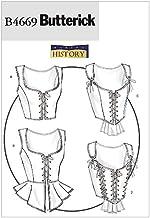 Butterick Patterns B4669 Misses' Corset, Size AA (6-8-10-12)