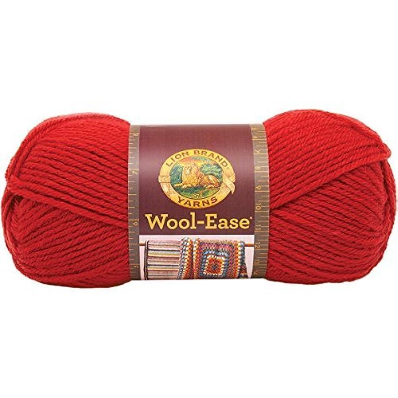 Lion Brand Yarn Company 1-Piece Wool-Ease Yarn, Ranch Red by Lion Brand Yarn Company
