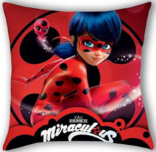Miraculous Ladybug Kissenbezug ca.: 40x40cm