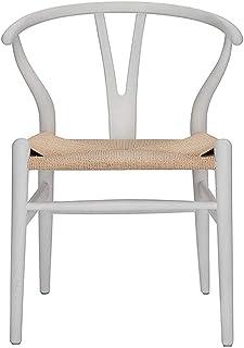 Tellgoy Wishbone Chair Y Silla De Madera Sólida Que Cena Las Sillas De Ratán Sillón Natural Comedor Sillas De Cocina,B