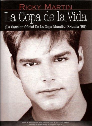 La Copa de la Vida P/V/G (feuillet) Ricky Martin (Es , En)