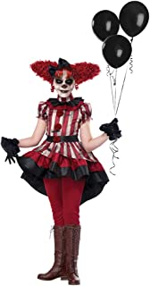 Best girl clown costume scary Reviews