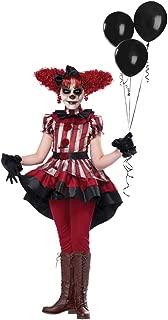 Girls Wicked Klown Horror Halloween Costume