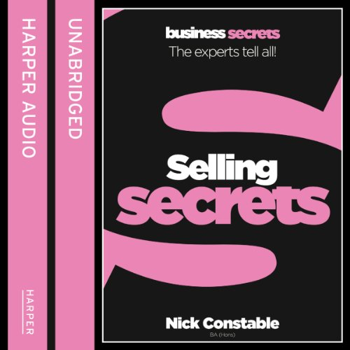 Selling Secrets audiobook cover art