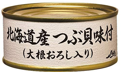 ストー 北海道産つぶ貝味付EO F3号 75g ×6個