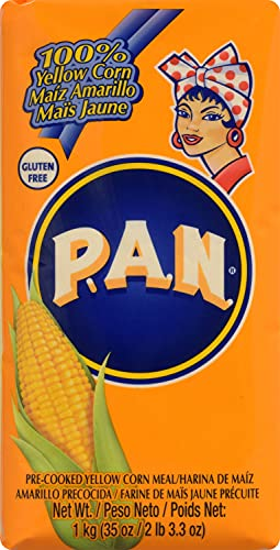 P.A.N. Harina de Maiz Amarilla Precocida 1kg