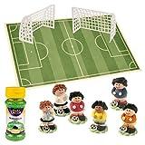 Günthart 1 Fußball Tortendeko Set, 1er Pack (1 x 328 g)