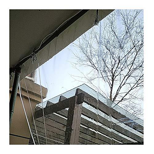 YJFENG Lona Resistente, Exterior Transparente Impermeable Cortina De Partición, Panel Lateral De Carpa De 0,3 Mm, A Prueba De Viento A Prueba De Polvo para Cubierta De Plantas