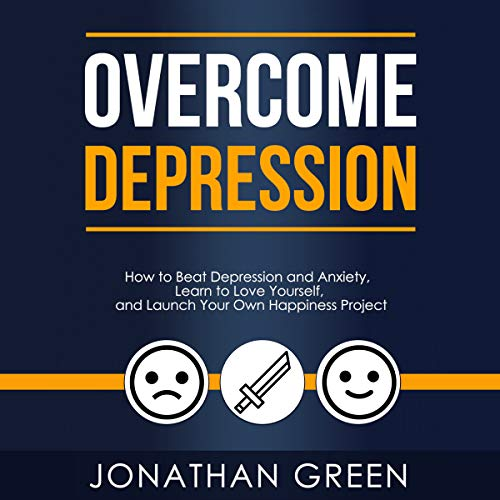 Overcome Depression audiobook cover art