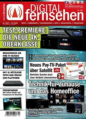 """Digital Fernsehen 12/2020 \""""Die neue 4K-Oberklasse\"""""""