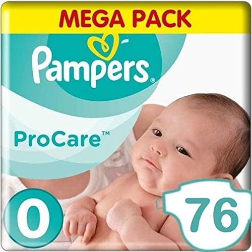 Pampers Premium Protection Procare Maat 0-76 Luiers