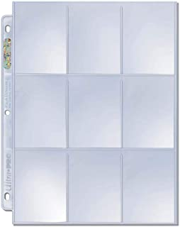 Ultra Pro Platinum Series 9-Pocket Pages for Trading Cards (50 ct.)