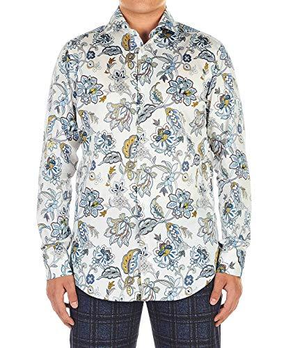 Etro Luxury Fashion Herren 1145157640990 Weiss Baumwolle Hemd | Herbst Winter 20