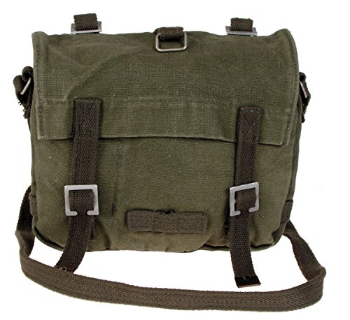 BW Messenger Bag Combat, klein Oliv Stonewashed