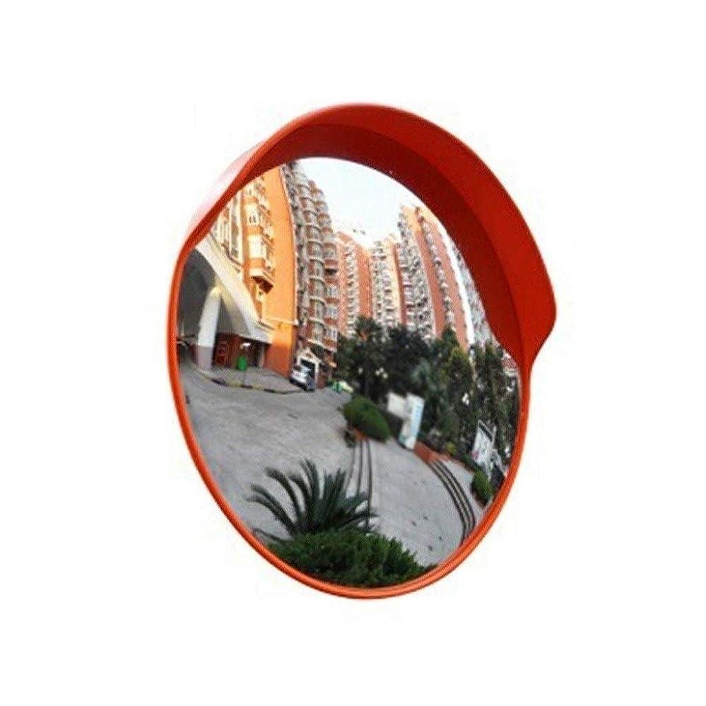 文芸魂暴露する屋外プラスチック広角レンズ、防雨日焼け止めトラフィックミラー耐久性のある簡単に設置できる凸型安全ミラー直径:45-100CM(サイズ:100CM)