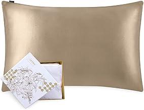 LilySilk gospodyni domowa jedwabna poszewka na poduszkę poszewka na poduszkę do włosów i skóry obie strony 1 szt. 19 mama ...