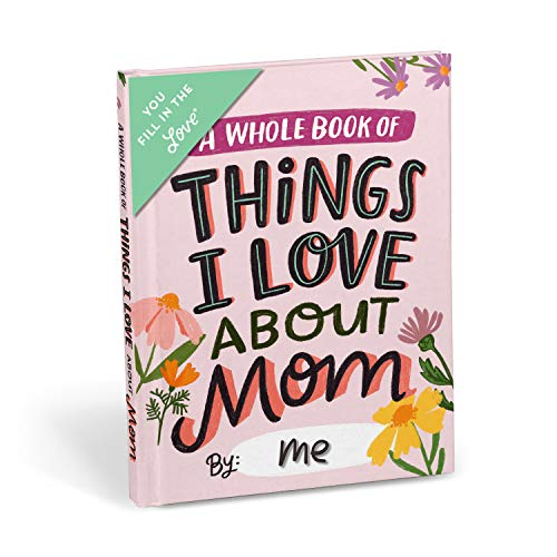 Emily McDowell & Friends About Mom Fill in the Love Book Fill-in-the-Blank Gift Journal, 4.10 x 5.40-inches