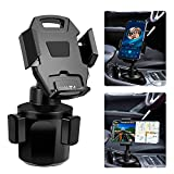 Car Cup Holder Mount, IKITS Universal Car Phone Holder for Car Adjustable Smartphone