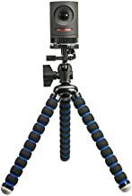 ARKON MEVTRIXL Flexible Camera Tripod Mount, Black/Blue (for Mevo Live Streaming Camera Retail Black)