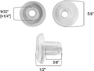 QTY 12 Horizontal Blinds Bottom Rail Ladder Cord Button Plug 9/32