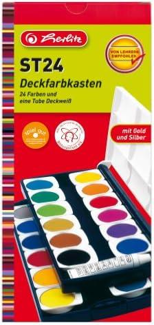 Herlitz ST24 10199933 - Estuche con acuarelas de , color es: Amazon.es: Electrónica