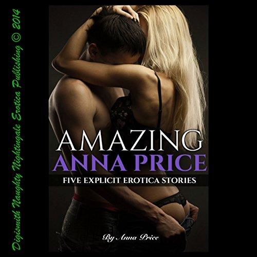 Amazing Anna Price audiobook cover art