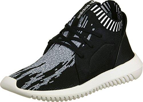 adidas Tubular Defiant Primeknit W Black Black White 42