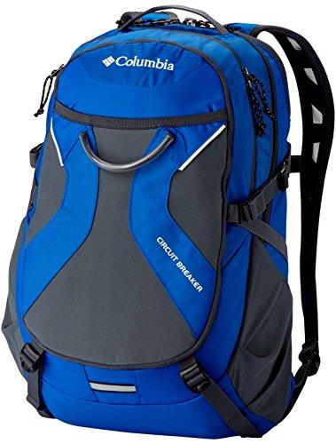 Columbia Paquete de mochila con disyuntor de circuito BOLSILLO PORTATIL ESTUDIANTE AZUL / GRIS