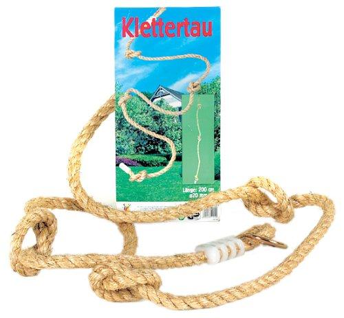 Outdoor active Kletterseil mit 4 Knoten, Länge 200 cm