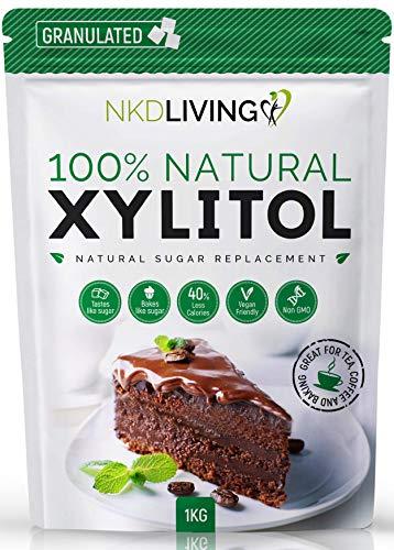 XYLITOL 1 kg Alternative naturelle au sucre | Certifié non-OGM