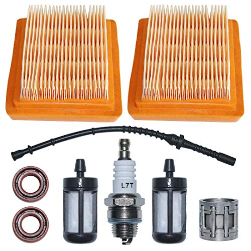 Buy Discount AUMEL Air Filter Fuel Filter Line Hose Kit For Stihl FS120 FS200 FS250 FS300 FS400 FS45...