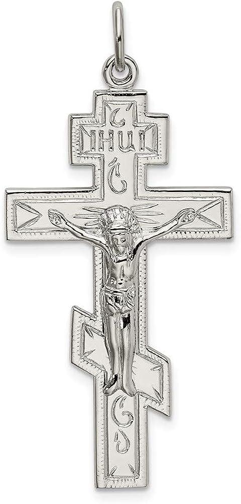 Ryan Jonathan Fine Jewelry Sterling Orthodox Cros High Classic order Silver Eastern