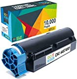Do it Wiser Compatible High Yield Toner Cartridge for Oki B431dn B411d MB471 B411dn B431d MB461 MF491- Okidata 44574901 (10,000 Pages, Black)
