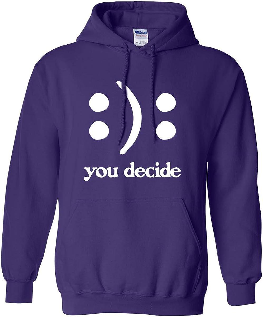 zerogravitee You Decide Smile 2020春夏新作 Frown Hooded Sweatshirt Adult オーバーのアイテム取扱☆