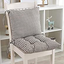 YLLN Garden Chair Cushion Recliner Cushion Seat Cushion Back Cushion Low-Back Cushion Chair Pads for Office Chair and at H...