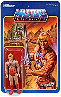 Super 7 Masters of The Universe Reaction Figures Wave 2: He-Man (Wave 2 Version) Action Figure
