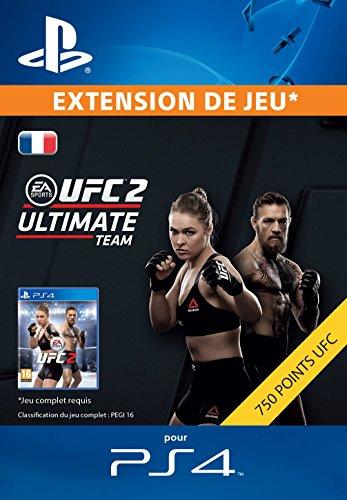 EA SPORTS 2 - 750 UFC POINTS [Code Jeu PSN PS4 - Compte français]