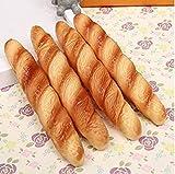 HANBIN Bolígrafo Bolígrafos con imán para pizza y pan Juguete para ni?os Oficina escolar Regalo lindo de la novedad Bread Stick