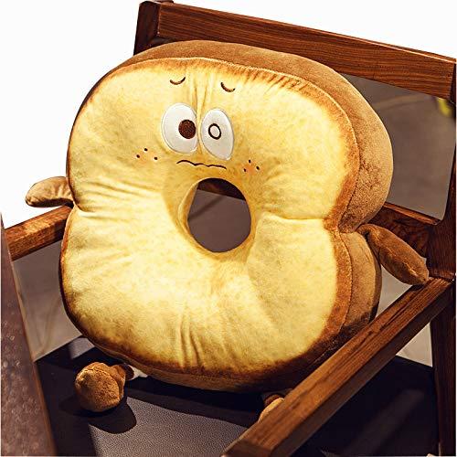 Cojín de asiento Tatami, cojín grueso de imitación de pan, almohada de oficina, almohada lumbar, respaldo.